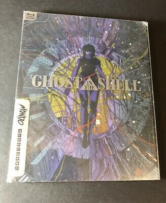 Ghost in the Shell [ Limited Edition STELBOOK ] (Blu-ray Disc) NEW