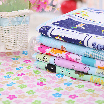 Cotton Baby Changing Pad Cover Burp Waterproof Urine Mat Color Random 2L9
