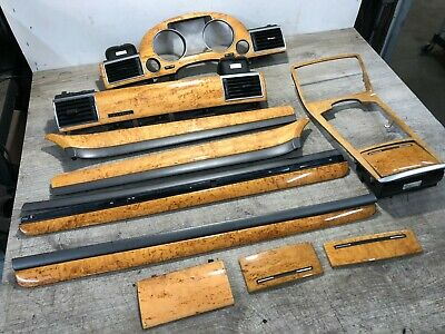 2003-2007 Audi A8L Quattro Interior Door Panel Console Trim Wood Moulding Oem