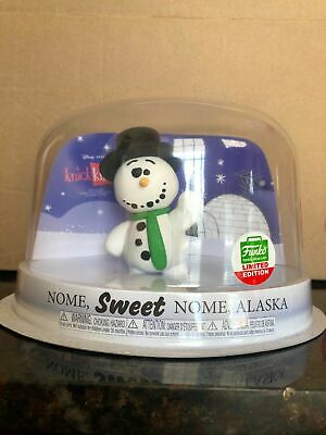 Funko Pop Vinyl Knick Knack Snowman 12 Days Of Christmas Exclusive