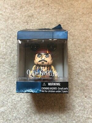 Pirates Of The Caribbean Jack Sparrow Disney Vinyl Collectable Figure