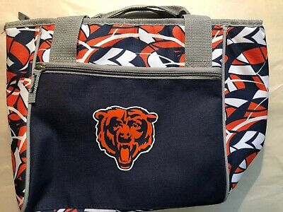 6f9900aa 12 CAN SOFT Sided NFL Cooler (Chicago Bears) - $18.99 | PicClick