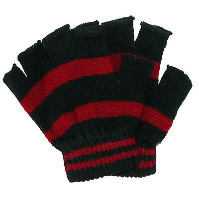 New CTM Toddler Stretch Striped Fingerless Gloves