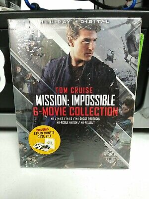 Mission: Impossible 6-Movie Collection (Blu-ray + Digital 7-Disc Set)