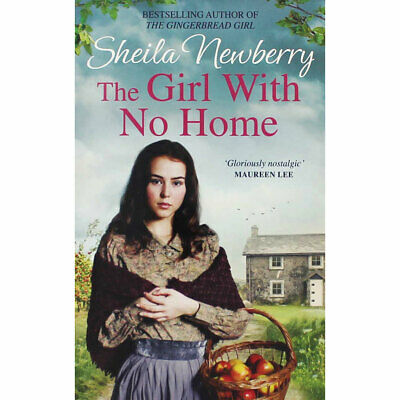 The Girl with No Home by Sheila Newberry (Paperback), Fiction Books, Brand New