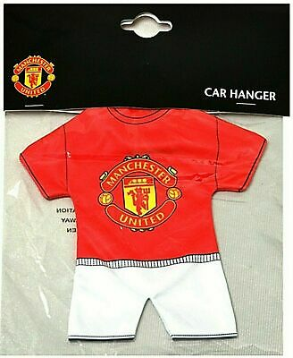 Manchester United Fc Football Kit Hang Up Car Accessories Mufc Window Hanging
