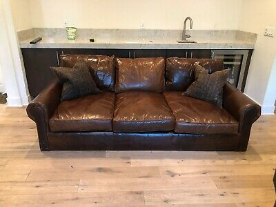 Pleasing Price Reduction Restoration Hardware Lancaster Leather Sofa Pdpeps Interior Chair Design Pdpepsorg