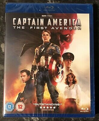 Captain America The First Avenger Marvel Bluray Brand New & Factory Sealed Mint