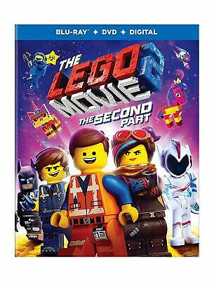 The LEGO Movie 2: The Second Part - Blu-ray + DVD + Digital - NEW with slipcover