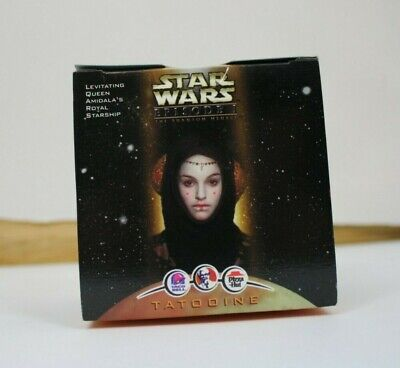 1999 Star Wars Episode 1 Joking Queen Amidala KFC Taco Bell Toy - New