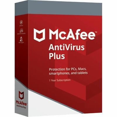 🔥 McAfee AntiVirus Plus 2019  Unlimited devices Windows Mac Android New 🔥