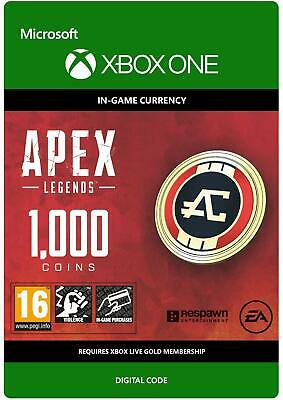 Apex Legends 1000 Coins Xbox One In-Game Currency Digital Download Key