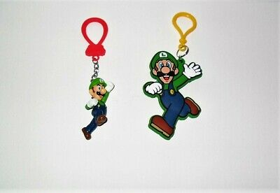 Super Mario Backpack Buddies & Hanger Luigi Loose No Packaging Just As Pictured