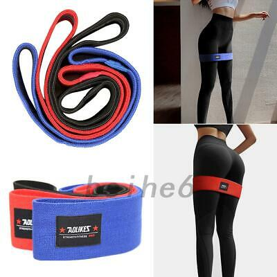 Resistance Hip Circle Band Booty Exercise Non Slip Peach Glute Loop Band UK