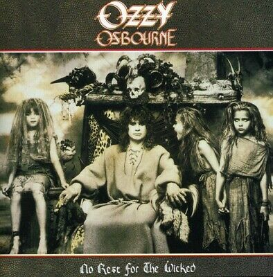 Ozzy Osbourne - No Rest For The Wicked  Remastere (CD Used Very Good) Remastered