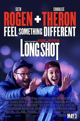 LONG SHOT MOVIE POSTER 1 Sided ORIGINAL FINAL 27x40 SETH ROGEN CHARLIZE THERON