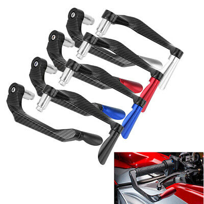 2pcs/set Brake Clutch Lever Protector Guard Handguard For Motorcycle 22MM 7/8