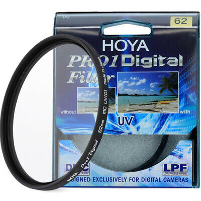 NEW 49/52/58/62/67/72/77mm Hoya Pro1D Digital MC UV Lens Filter for Camera DSLR