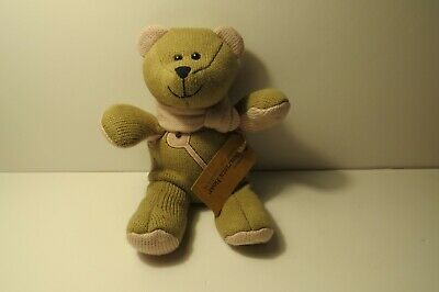 Starbucks Coffee Bearista Bear Plush Stuffed Toy Pink Scarf and Key Winter 2010