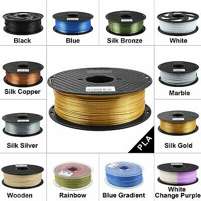3D Printer Filament 1.75MM 1KG Silk Gold Wood Marble Copper 1KG For FDM Printer