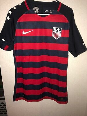 ff9ac2c02 Soccer USA National Team 2017 Gold Cup NIKE Player ISSUED Authentic Jersey  (L)