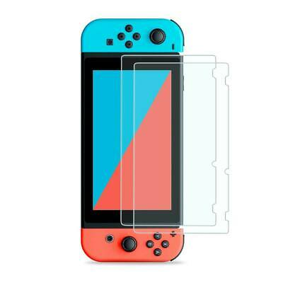 Nintendo Switch Console Premium Tempered GLass 2 Pack Screen Protector Cover US
