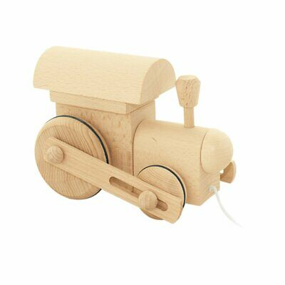 NEW CHILDRENS Wooden Pull Along Train - Frederik