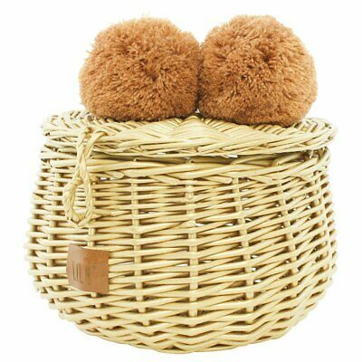NEW CHILDRENS Wicker Basket Small - Gold