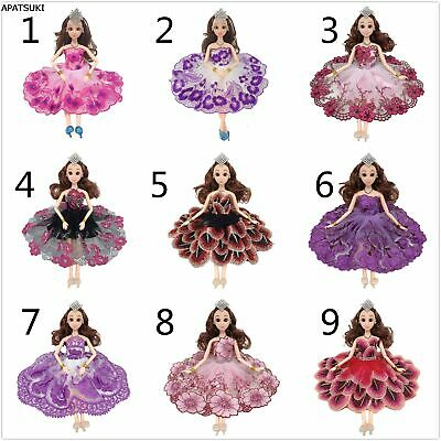 Fashion Doll Clothes Color Dancing Costume Peacock Feather Dress For 11.5in Doll