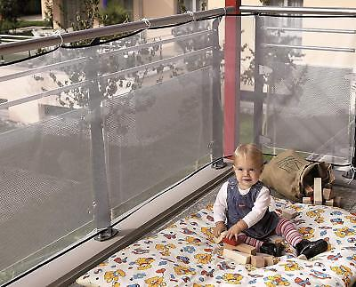 Reer Protection Netting for Balcony 94 cm x 294 cm weather-resistant