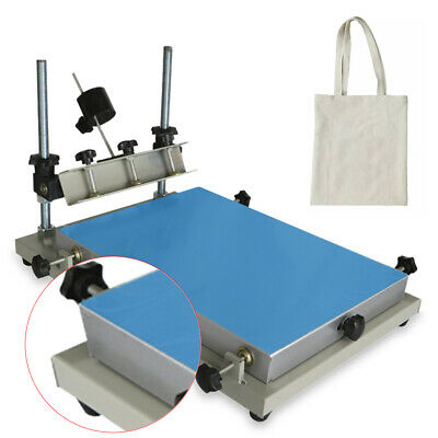 Manual Solder Paste Printer Printing Machine PCB SMT Stencil Printer 300*240mm