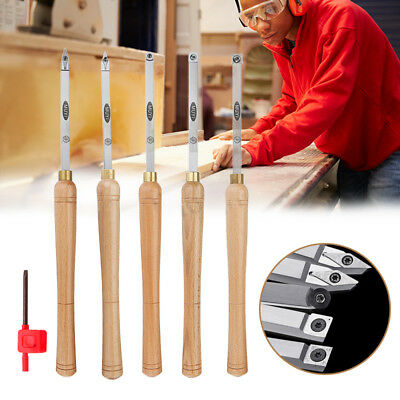 Wood Turning Carbide Tip Chisel Straight Lathe Cutter Tool Round/ Square/Diamond