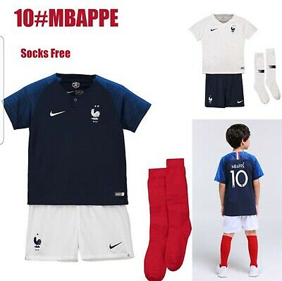 Ensemble Equipe de France MBAPPE   2 étoiles    Collection 2019 enfant