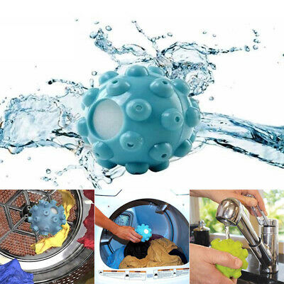 2Pcs Wrinkle Remover Laundry Ball Releasing Dryer Fabric Softening clothes wash