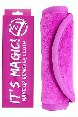 Magic Makeup Remover Cloth W7 Eraser Vanisher of Makeup Face Towel WipesCleanser