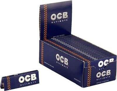 Ocb 2500 Cartine Ultimate Corte Box Da 50 Libretti