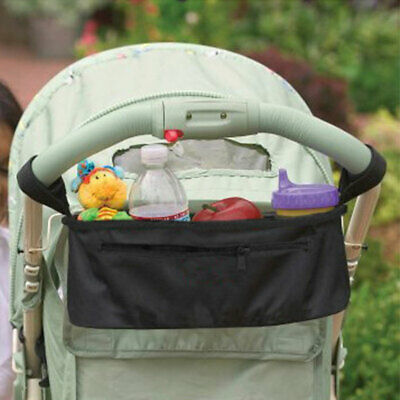 Universal Hanging Bag Organizer Car Storage Diapers Cup For Baby Buggy Stroller