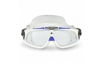 AquaSphere Seal 2.0 Ladies Swimming Goggles Clear Lens White Lavender