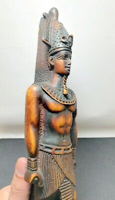 Ancient Egyptian Statue King RAMSES Figurine God HANDMADE Decor Pharaoh LARGE