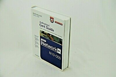 CompTIA Network+ N10-005 Authorized Cert Guide - Practice test on Unopened DVD