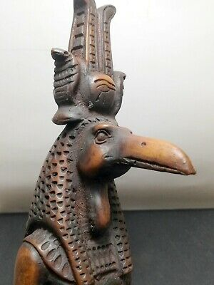 Ancient Egyptian Statue King THOUT Figurine God HANDMADE Decor Pharaoh LARGE