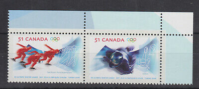 Canada Mnh Stamp Set 2006 Winter Olympic Games Sg 2382-2383