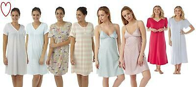 Ladies Girls Nightie Nightdress Sleepwear Plus Size Nightwear