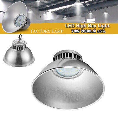 70W DEL High Bay Light Industriel Lampe Entrepôt Lighting blanc froid IP54