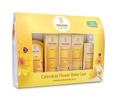 Weleda Calendula Flower Baby Care Mini Gift Set