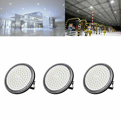 3X 100W UFO DEL High Bay Light Industriel Lampe Entrepôt Commercial éclairage