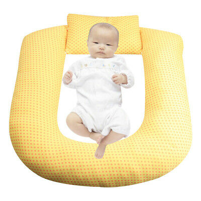 Infant Baby Newborn Pillow Cushion Prevent Flat Head Sleep Nest Pod Anti Roll N6