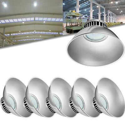 6X 70W DEL High Bay Light Industriel Lampe Entrepôt Lighting blanc froid IP54