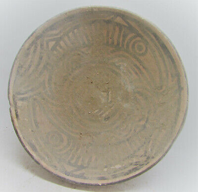 Finest Circa 2200-2000Bce Ancient Indus Valley Harappan Bowl With Fish Motifs