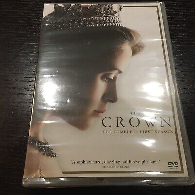 The Crown: The Complete First Season (DVD,2017) new